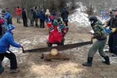 log-sawing